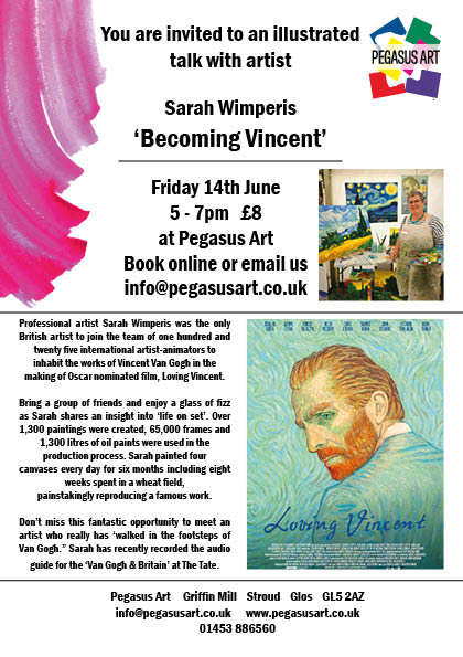 Loving Vincent Art Talk at Pegasus Art
