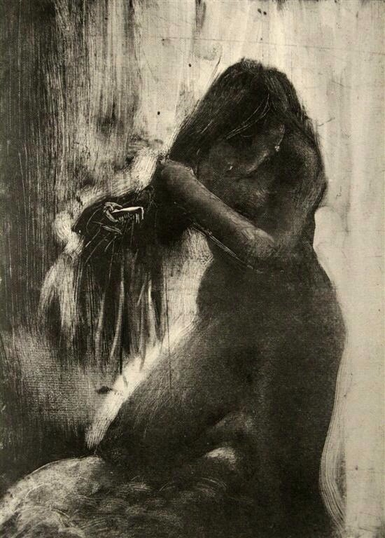 When Degas fell in love with monotype printing