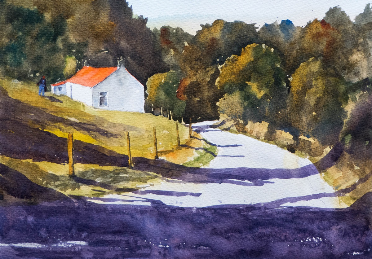 Artist Insight: Colin Joyce ~ watercolour landscapes from beautiful corners of the world