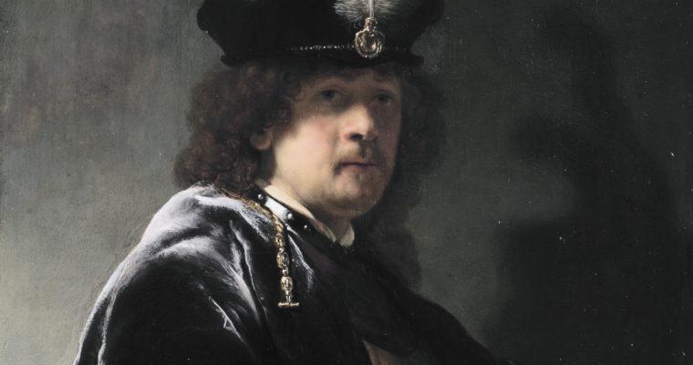 Rembrandt ~ his portraits and palette.