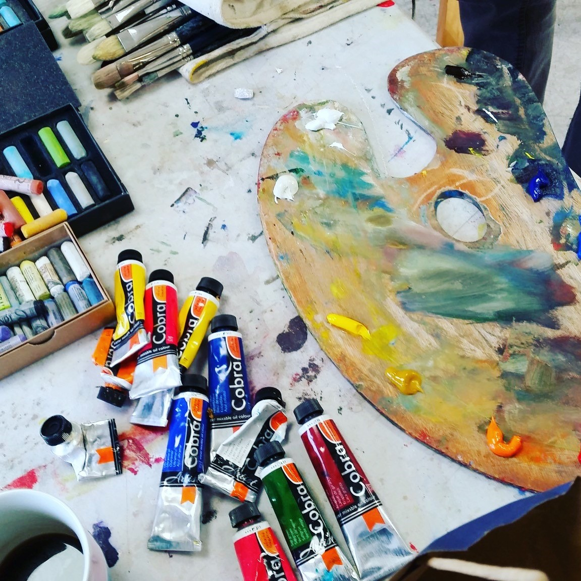 So you want to paint in oils….