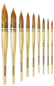 Beautiful brushes by Da Vinci.
