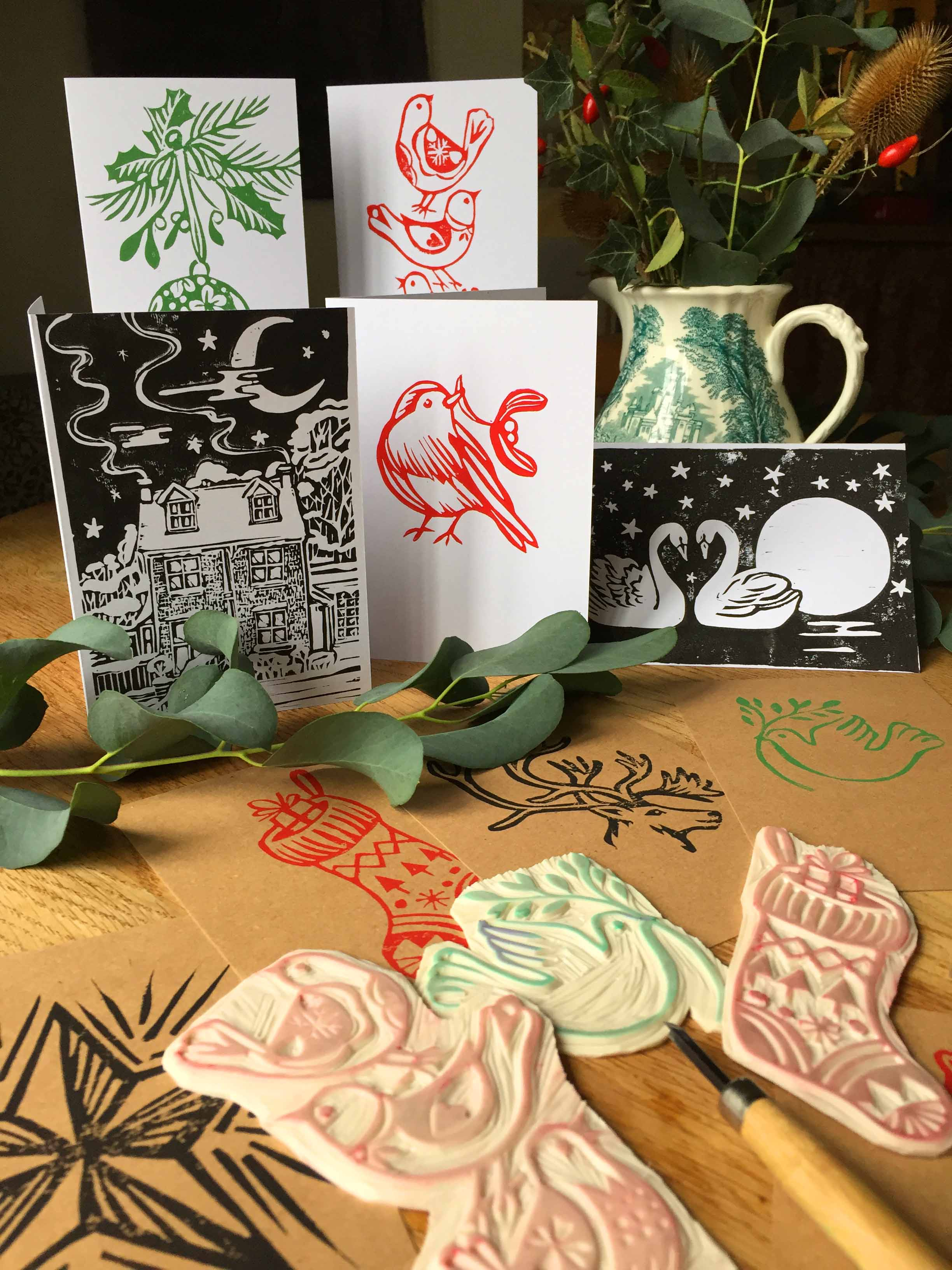 How to print your own Christmas cards with Susie Hetherington