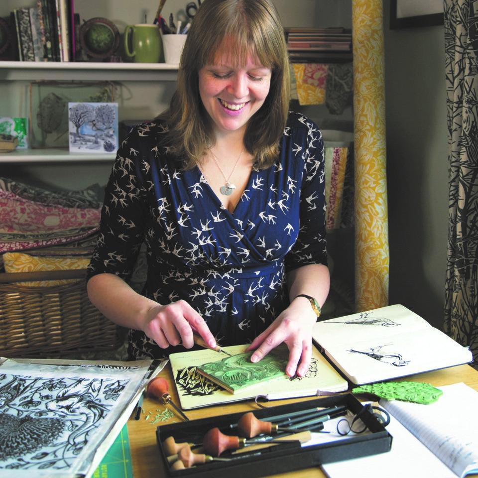 Susie Hetherington in her studio.
