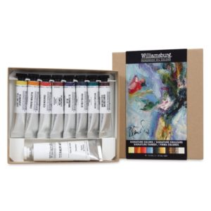 Williamsburg Oil Paint Set signature colours £39.99. Perfect gifts for artists.