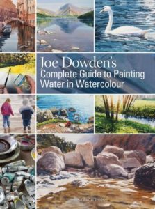 Perfect gifts for artists. Joe Downden's complete guide to painting water in watercolour.