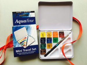 Daler Rowney Aquafine watercolour set £9.99. Perfect gifts for artists.