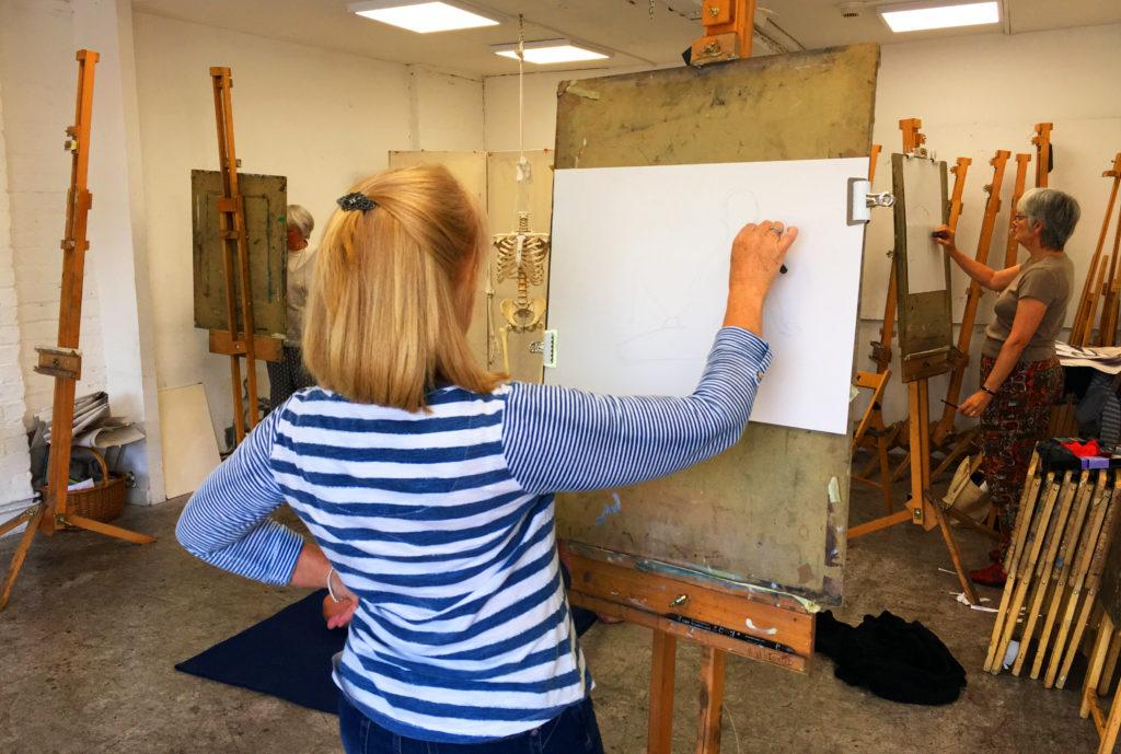 Regular Art Classes at Pegasus Art
