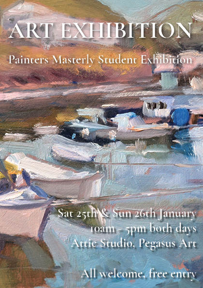 All welcome to our student exhibition!
