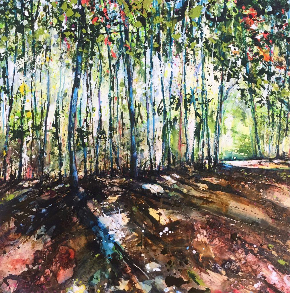 Morning Woodland by Mel Cormack-Hicks