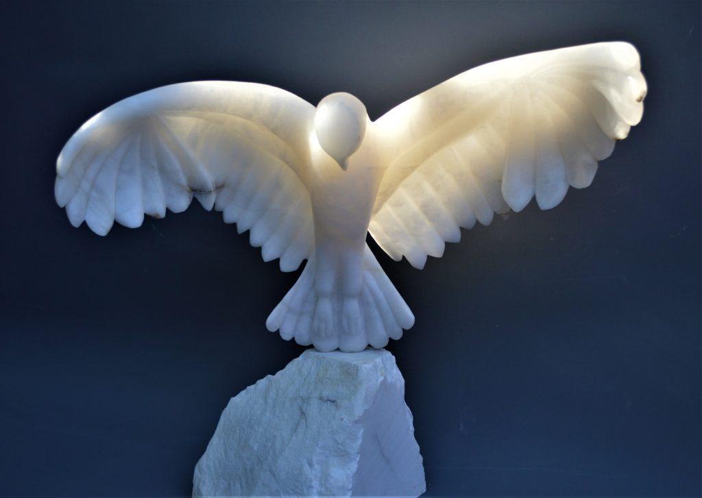 Spirit - a sculpture by Debs Harrison