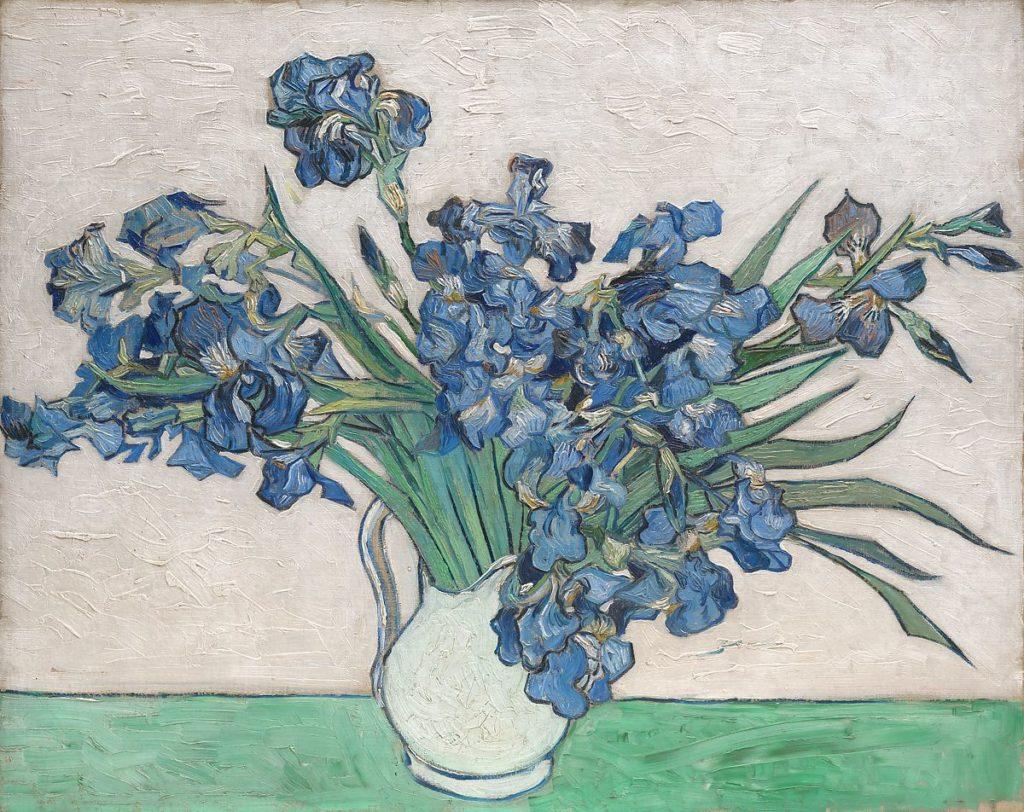 Irises by Van Gogh at The Met Museum