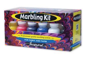 Jaquard marbling kit at Pegasus Art.