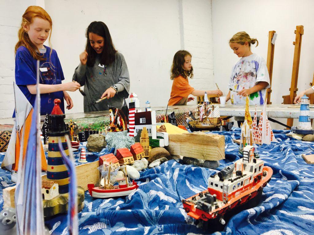 Kids Art Projects at Pegasus Art