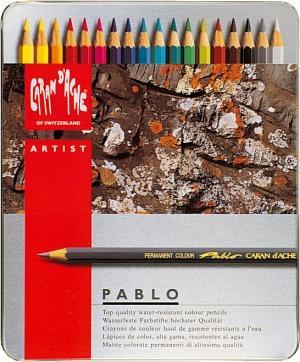 Caran d'Ache Pablo watersoluble pencils at Pegasus Art