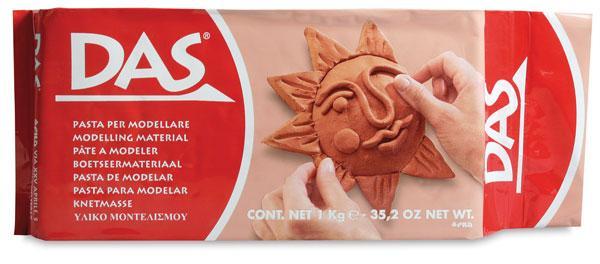 DAS terracotta modelling clay at Pegasus Art
