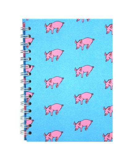 A4 spiralbound Pink Pig sketchbooks at Pegasus Art.