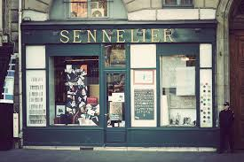 Sennelier art shop, Paris.