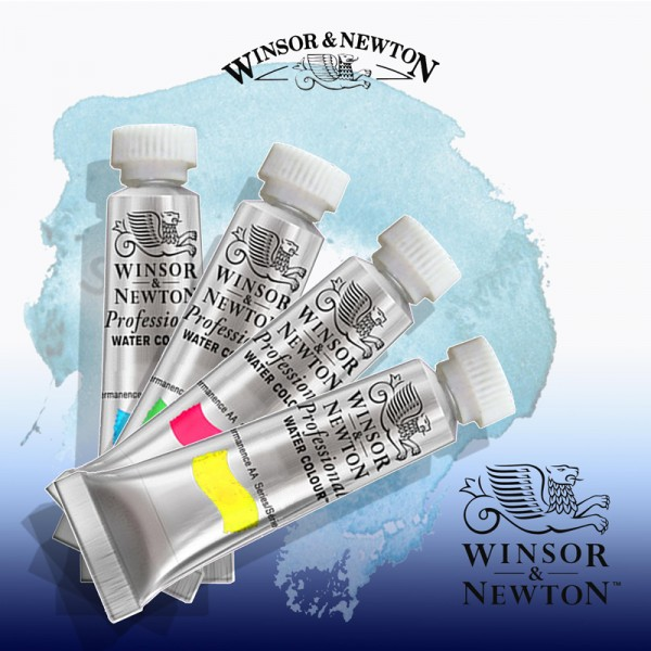 Winsor and Newton paints at Pegasus Art