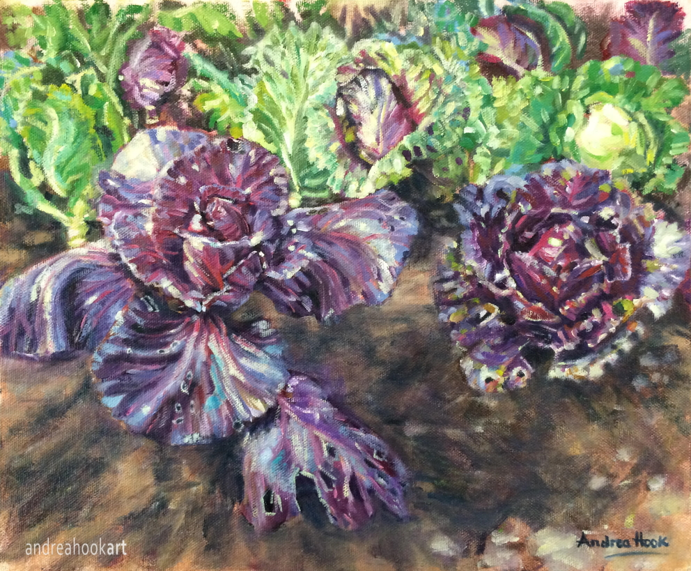 The Cabbage Patch by Andrea Hook Art