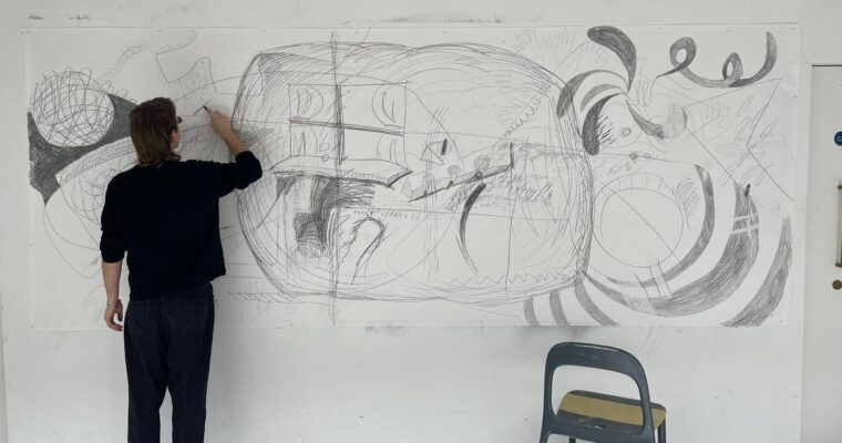 Dougal Kirkland: large scale drawings