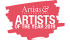 artist and illustrators artist of the year 2019 logo