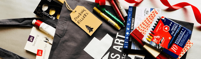 gifts under £10 - stocking fillers for artists