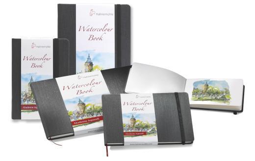 Hahnemuhle Watercolour Hardback Book A5 Portrait 200gsm