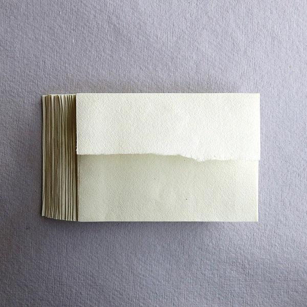 Pack of 20 C7 Envelopes KHADI HANDMADE COTTON RAG PAPER