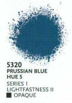 Liquitex Spray Paint - 48 Professional Acrylic Colours: Prussian Blue Hue 5  S1