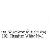 130 Titanium White No 3 (Linseed)