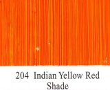 204 Indian Yellow Red Shade