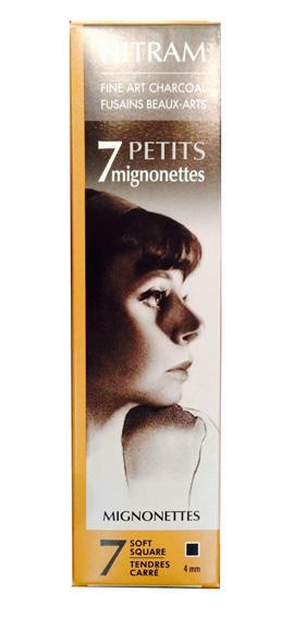 Nitram Mignoettes Charcoal Refills Pack of 7