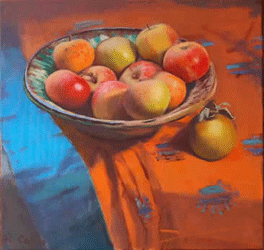 Rob Collins Apples Painting