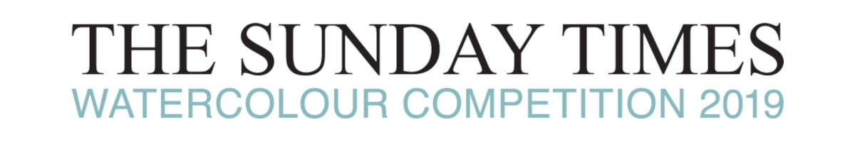 The Sunday Times Watercolour Competition 2019 logo