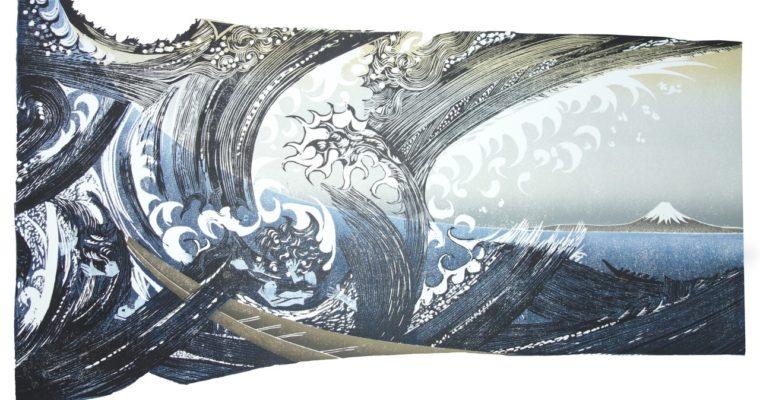 A printmakers view of Katsushika Hokusai 'The restless artist'